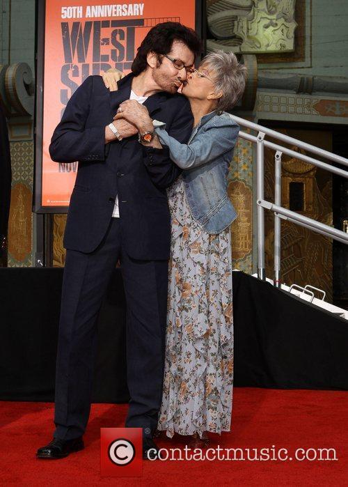 Rita Moreno, George Chakiris and Grauman's Chinese Theatre 3