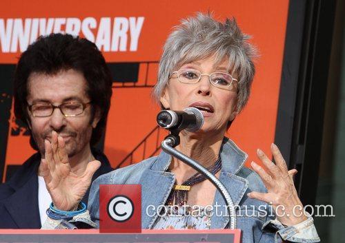 Rita Moreno, George Chakiris and Grauman's Chinese Theatre 6