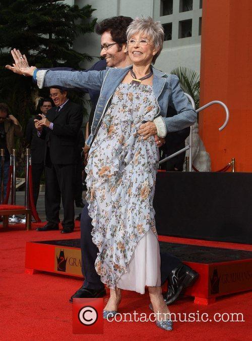 Rita Moreno, George Chakiris and Grauman's Chinese Theatre 5