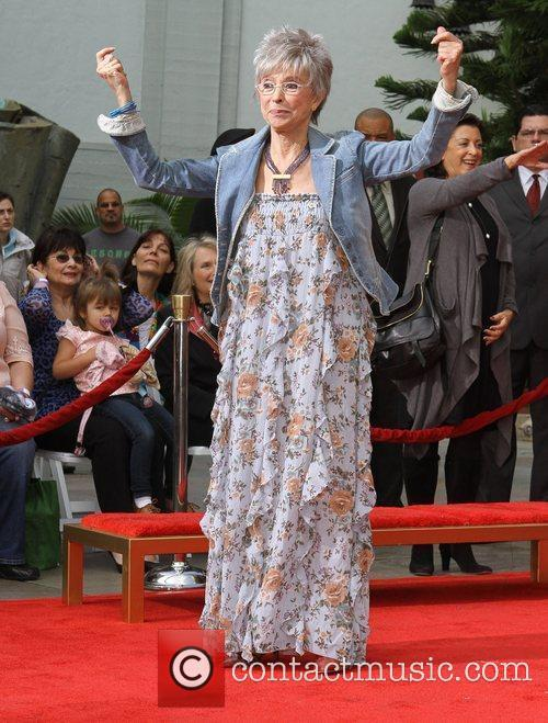 Rita Moreno and Grauman's Chinese Theatre 9