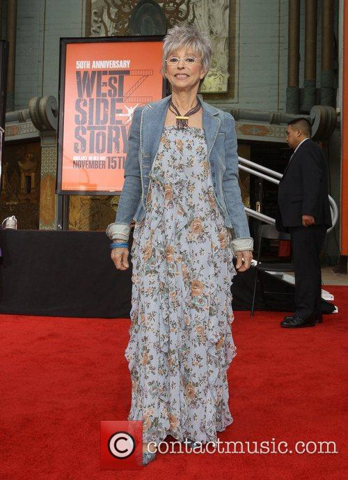 Rita Moreno and Grauman's Chinese Theatre 1