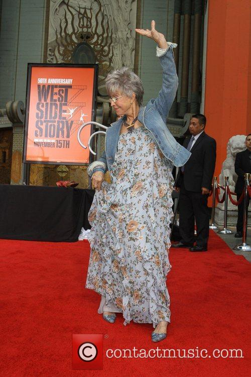 Rita Moreno and Grauman's Chinese Theatre 11