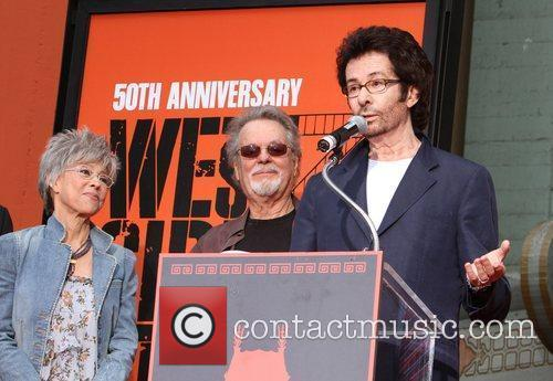 Rita Moreno, George Chakiris, Russ Tamblyn and Grauman's Chinese Theatre 6