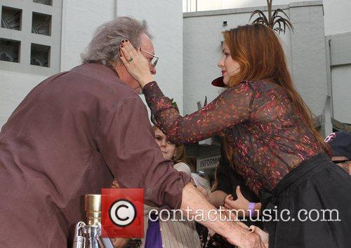 Russ Tamblyn, Amber Tamblyn and Grauman's Chinese Theatre 1