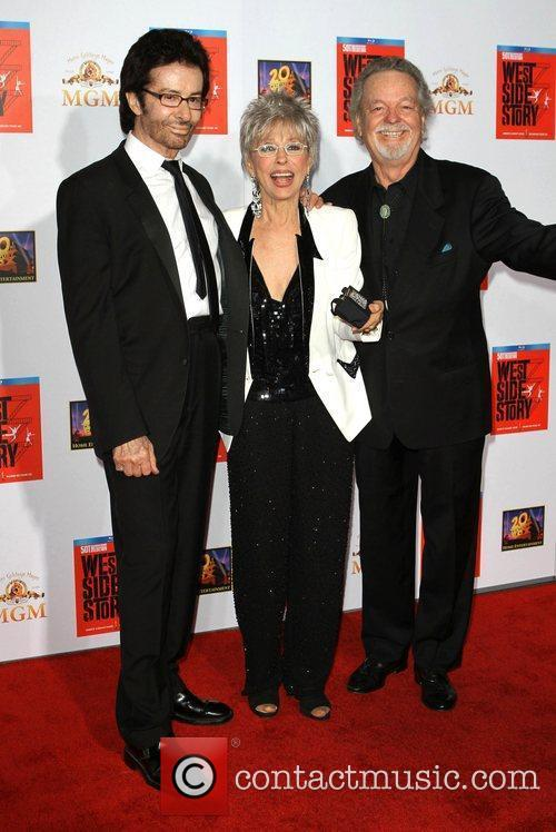George Chakiris, Rita Moreno, Russ Tamblyn and Grauman's Chinese Theatre 6