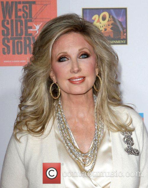 Morgan Fairchild and Grauman's Chinese Theatre 1