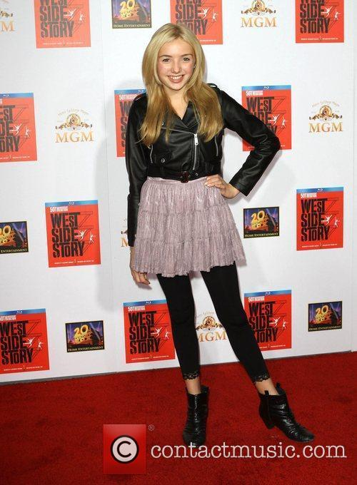 Peyton List, Kenny Ortega and Grauman's Chinese Theatre 2