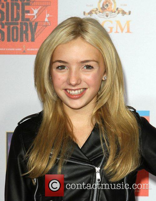Peyton List, George Chakiris and Grauman's Chinese Theatre 1