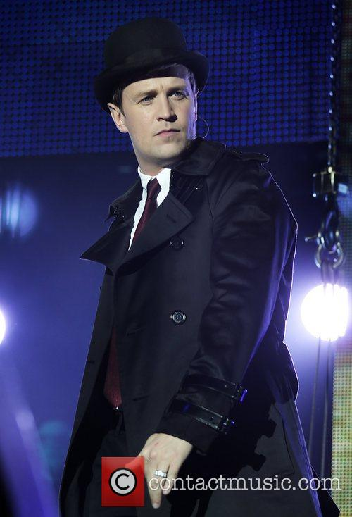 Kian Egan Westlife perform live at the Liverpool...
