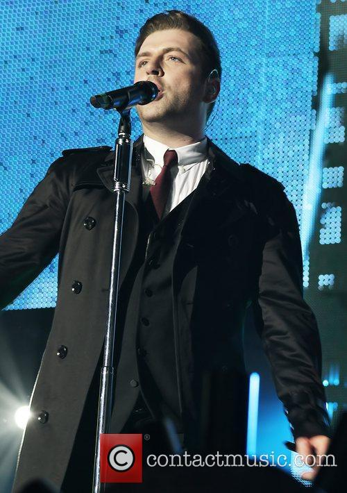 Westlife perform live at the Liverpool Echo Arena