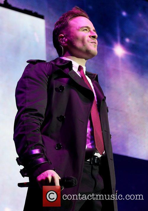 Shane Filan Westlife perform live at the Liverpool...