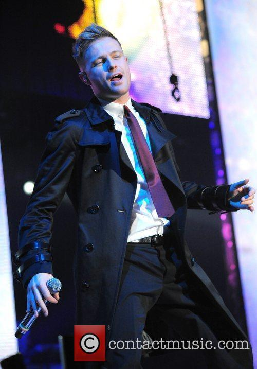 Westlife perform live at the LG Arena