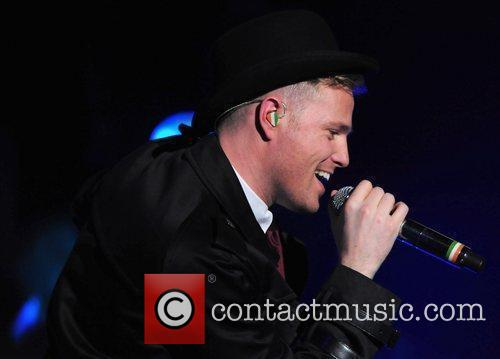 Nicky Byrne Westlife perform live at the LG...