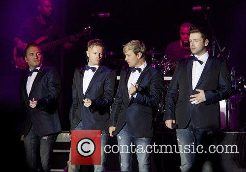 Westlife's 'Gravity' tour at Doncaster's Keepmoat stadium...
