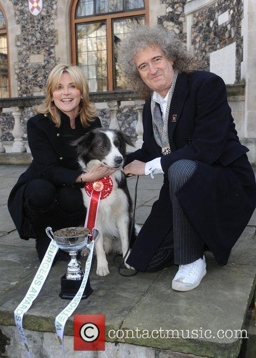 Anthea Turner and Brian May  The Wetnose...