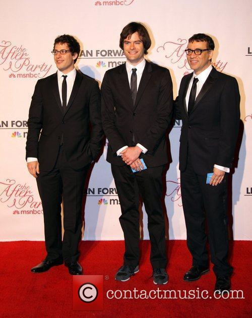 Andy Samberg, Bill Hader, Fred Armisen