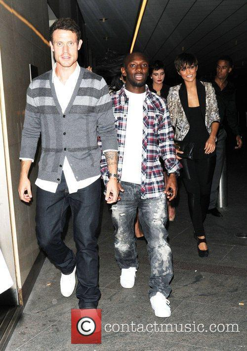 Wayne Bridge and Frankie Sandford 4