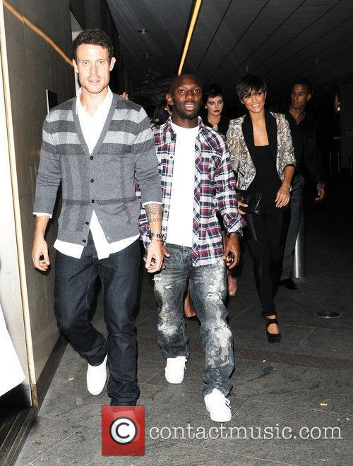 Wayne Bridge and Frankie Sandford 6