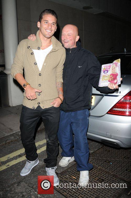 David Bentley  leaving Whisky Mist nightclub London,...