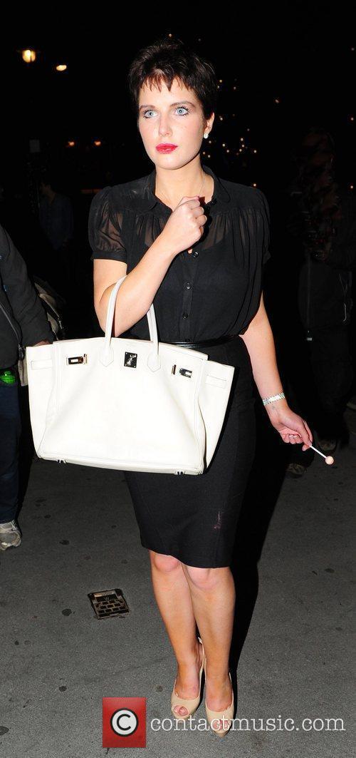 Helen Flanagan is seen leaving Whisky Mist