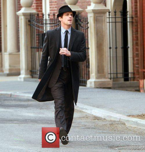 Shooting on location for 'White Collar'