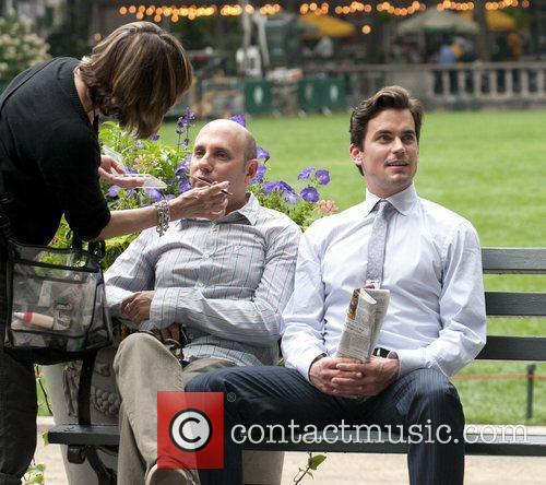 Willie Garson and Matt Bomer 1