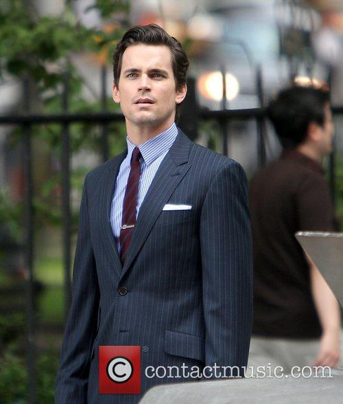 Shooting on location for 'White Collar' in Manhattan