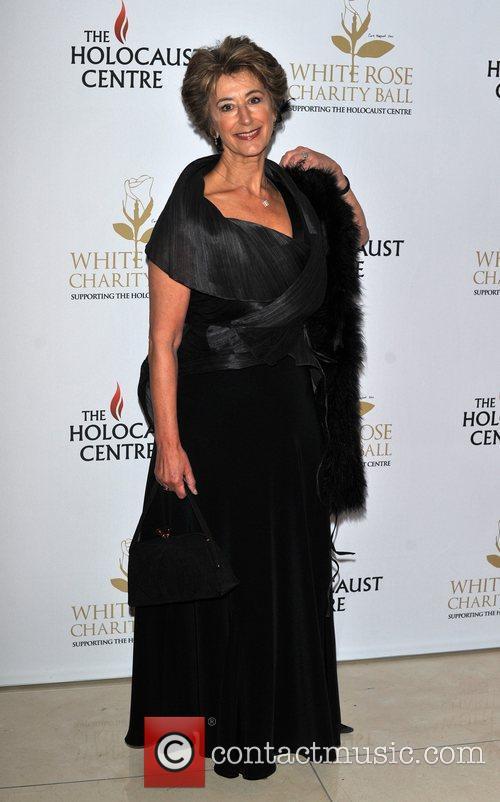 Maureen Lipman White Rose charity ball held at...