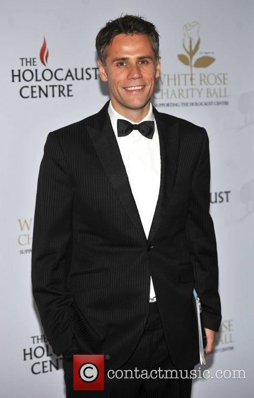 Richard Bacon White Rose charity ball held at...