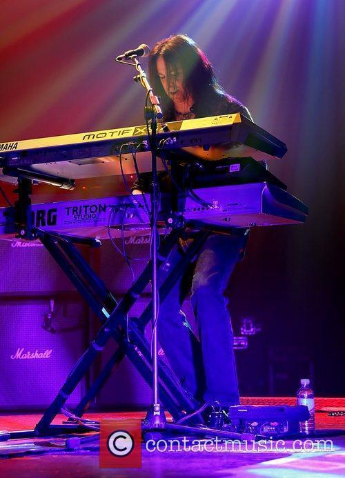 Brian Ruedy  Whitesnake performing at Manchester O2...