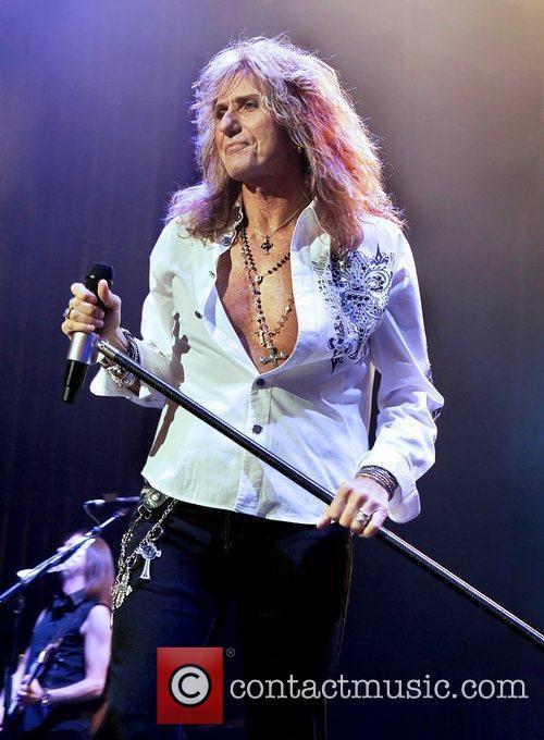 David Coverdale Whitesnake performing at Manchester O2 Apollo...