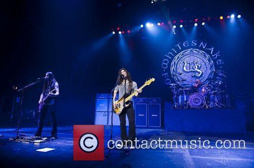 Whitesnake performing at the HMV Hammersmith Apollo London...