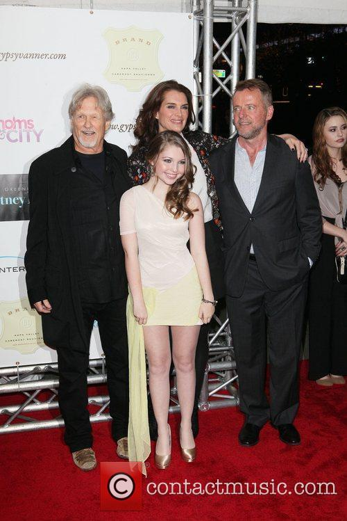 Kris Kristofferson, Aidan Quinn, Brooke Shields and Sammi Hanratty 1