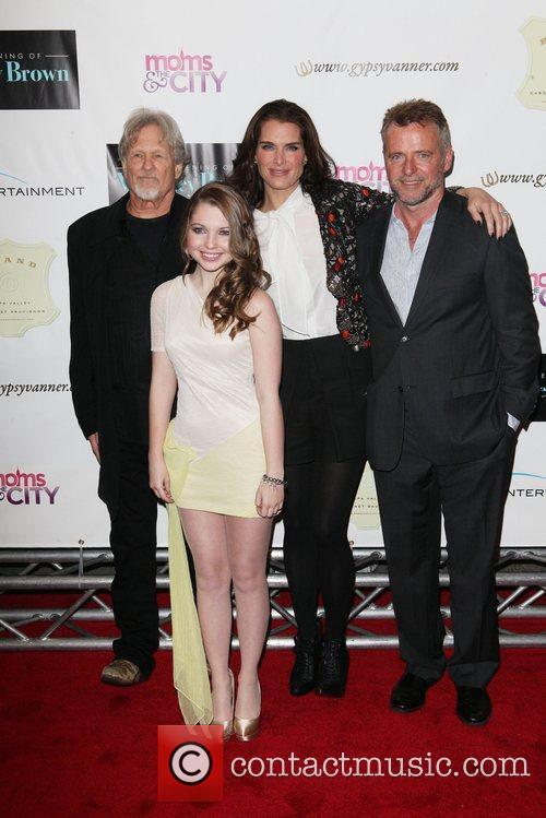 Kris Kristofferson, Aidan Quinn, Brooke Shields and Sammi Hanratty 3