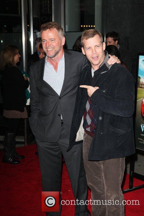 Aidan Quinn, Tim Griffin New York premiere of...