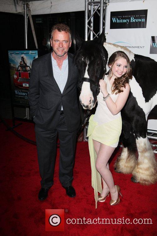 Sammi Hanratty and Aidan Quinn New York premiere...
