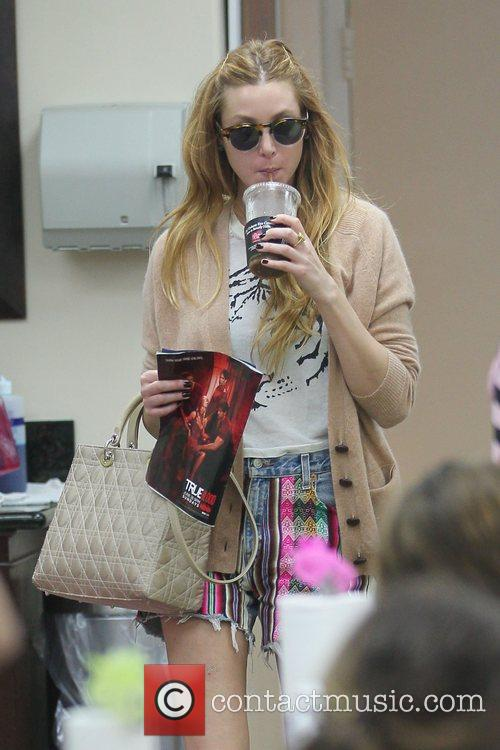 Whitney Port at a salon in Beverly Hills...