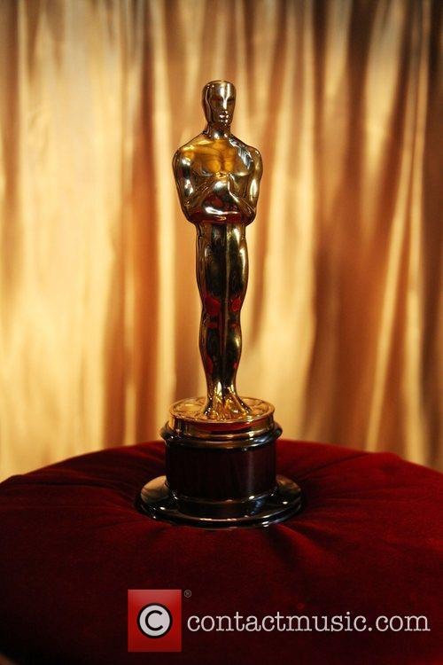 'Meet the Oscars' an exhibition of Oscar statuettes...