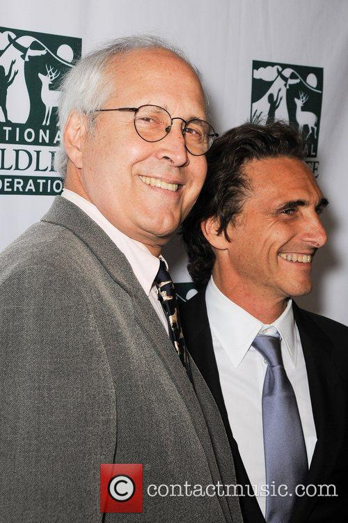Chevy Chase and Lawrence Bender 8