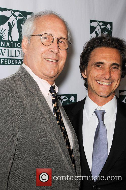 Chevy Chase and Lawrence Bender 2