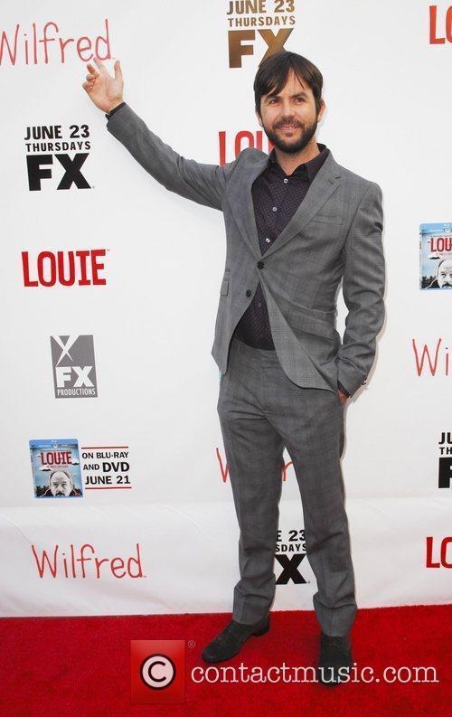 Jason Gann Film Premiere of Wilfred and Louie...