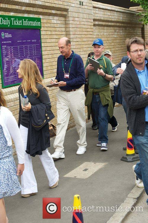 Stan Smith Wimbledon Tennis Championships - Day 1...