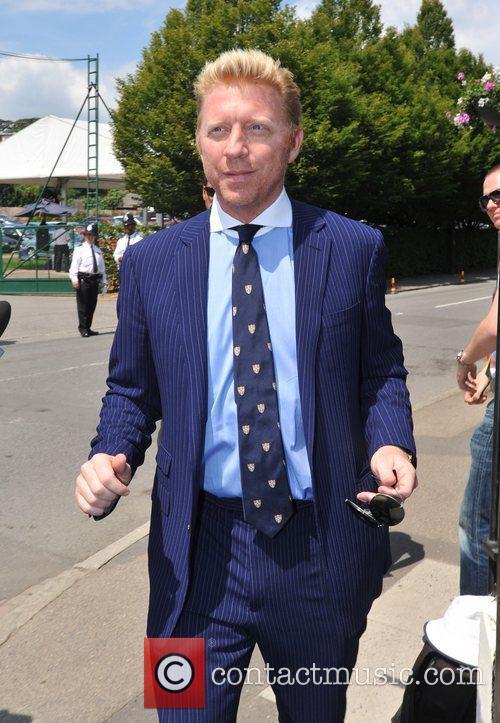 Boris Becker Wimbledon Men's finals - Outside Arrivals...