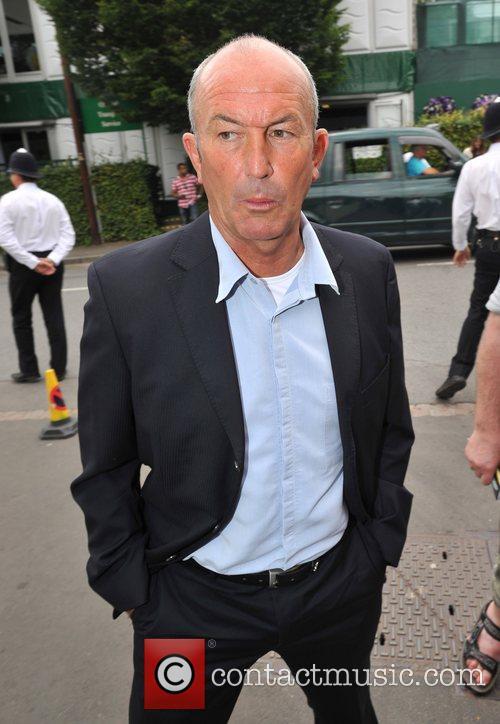 Tony Pulis Wimbledon Men's finals - Outside Arrivals...