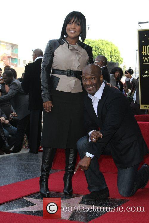 Bebe Winans and Walk Of Fame
