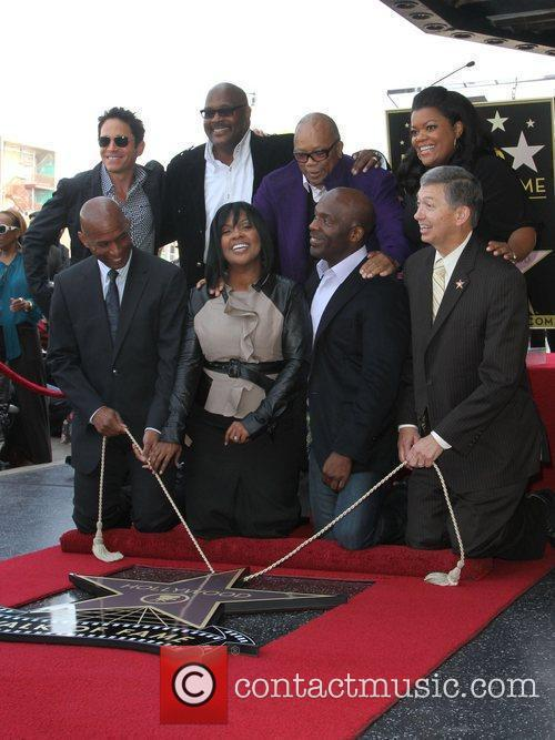 Dave Koz, Quincy Jones and Walk Of Fame