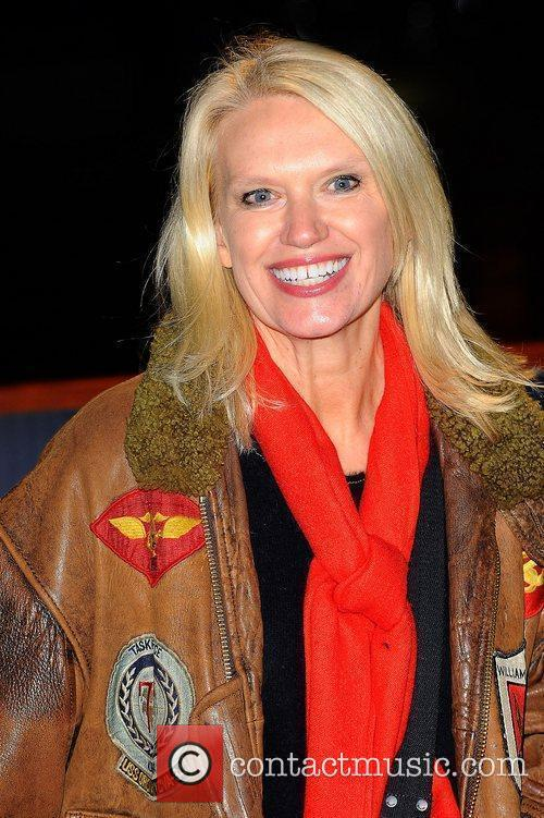 Anneka Rice,  at the opening night launch...