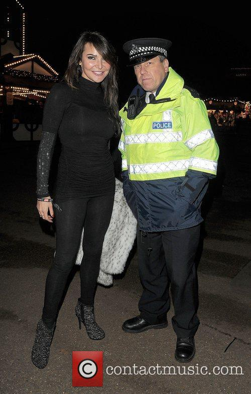 Lizzie Cundy is asked by a Police Officer...