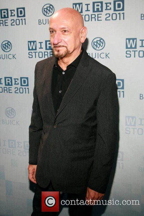 Ben Kingsley 2011 Wired Store Opening Launch Party,...