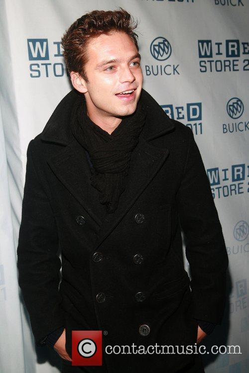 Sebastian Stan 2011 Wired Store Opening Launch Party,...
